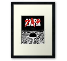 AKIRA - Neo Tokyo Is About To Explode Framed Print