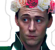 Loki & His Sass Sticker