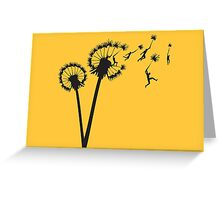 Dandylion Flight Greeting Card