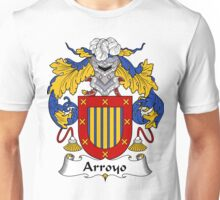 Arroyo Coat of Arms/Family Crest Unisex T-Shirt