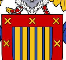 Arroyo Coat of Arms/Family Crest Sticker