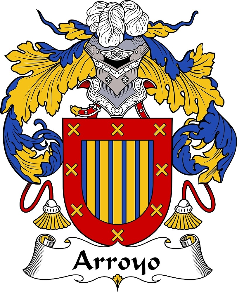 Arroyo Coat of Arms/Family Crest by William Martin