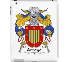 Arroyo Coat of Arms/Family Crest iPad Case/Skin
