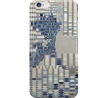 Data Tidal Wave Generative Algorithmic Art iPhone Case/Skin