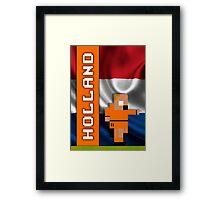 World Cup 2014: Holland Framed Print