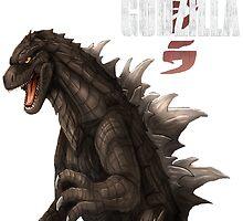 Godzilla 2014 by Kwon  Woo