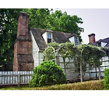 Cottage House Photographic Print