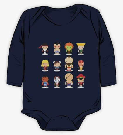 Street fighter - the world warrior One Piece - Long Sleeve