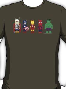 8-Bit Super Heroes! T-Shirt
