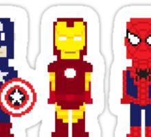 8-Bit Super Heroes! Sticker