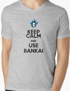 KEEP CALM AND USE THE BANKAI Mens V-Neck T-Shirt