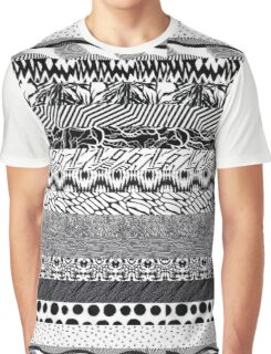 Music/Humour - Blurryface Pattern Collage Graphic T-Shirt