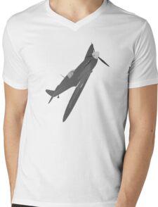 Sliver Spitfire Mens V-Neck T-Shirt