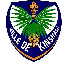 Coat of Arms of Kinshasa Photographic Print