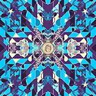 Triangles 5 abstract tribal pattern by mikath
