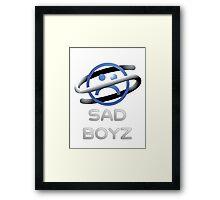 Sega Saturn Sad Boyz Classic. Framed Print