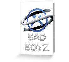 Sega Saturn Sad Boyz Classic. Greeting Card