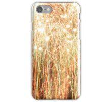 Bright fireworks iPhone Case/Skin