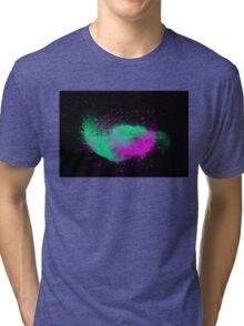 dust explosion 4 Tri-blend T-Shirt