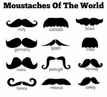 Moustaches of the world by CameronJFord