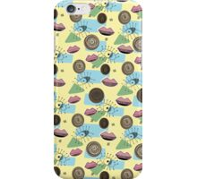 Vintage 50's Inspired Eyes Lips Pastel Pattern iPhone Case/Skin