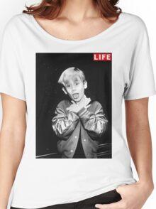 Macaulay Culkin Life Tshirt Women's Relaxed Fit T-Shirt
