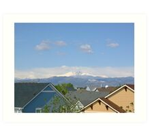 Rooftop view in Loveland Art Print