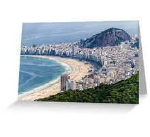 "'COPACABANA"" Greeting Card"