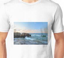 Rolling Waves On Superior Unisex T-Shirt
