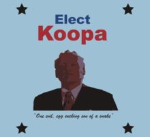 Elect Koopa by stumpyshirts