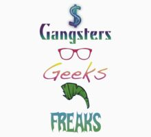 Gangsters, Geeks & Freaks by katystattoogurl
