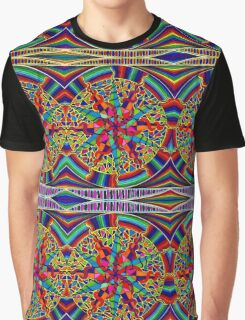 Psychedelic Abstract colourful work 269 Graphic T-Shirt