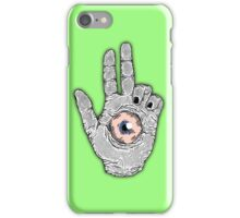 The Forbidden Eye iPhone Case/Skin