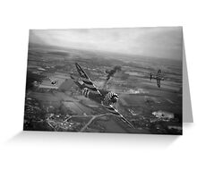 P47 Thunderbolt - D-Day Train Busters Greeting Card