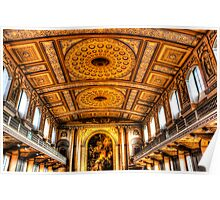 Naval Chapel Greenwich London Poster