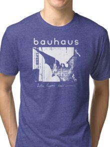 Bauhaus - Bat Wings - Bela Lugosi's Dead Tri-blend T-Shirt