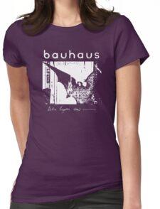 Bauhaus - Bat Wings - Bela Lugosi's Dead Womens Fitted T-Shirt