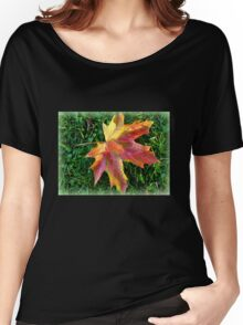 A Leaf Women's Relaxed Fit T-Shirt