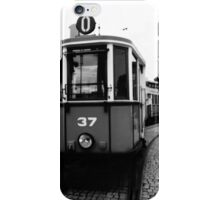 Slow Down and Take the Tram iPhone Case/Skin