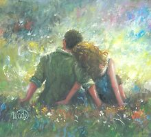 HAPPILY DEVOTED TO YOU LOVING COUPLE by VickieWade