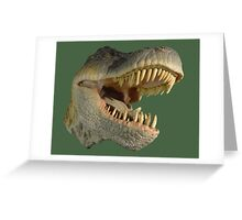T-rex Greeting Card