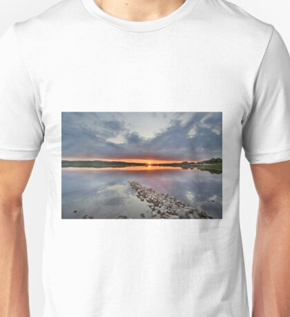 Dumfires & Galloway: Sunset at Loch Ken Unisex T-Shirt