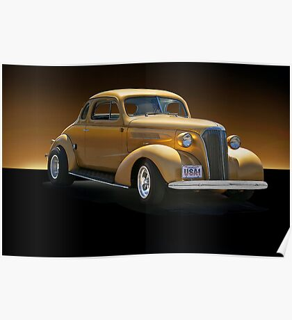 1937 Chevrolet Coupe IV Poster