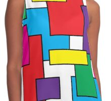 squares Contrast Tank