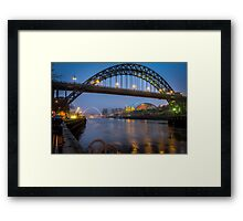 Tyne Bridges Framed Print
