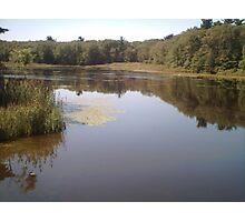 Pond Medow Park Braintree MA Photographic Print