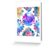 Sweet Flower Pattern Greeting Card