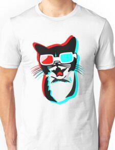3D Cat Unisex T-Shirt