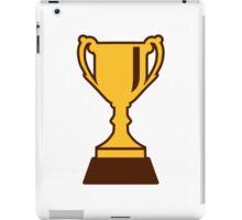Cup trophy winner champion iPad Case/Skin