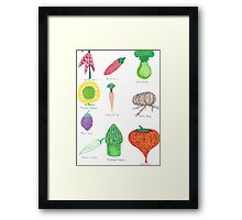 Genetically Modified Food 2 Framed Print